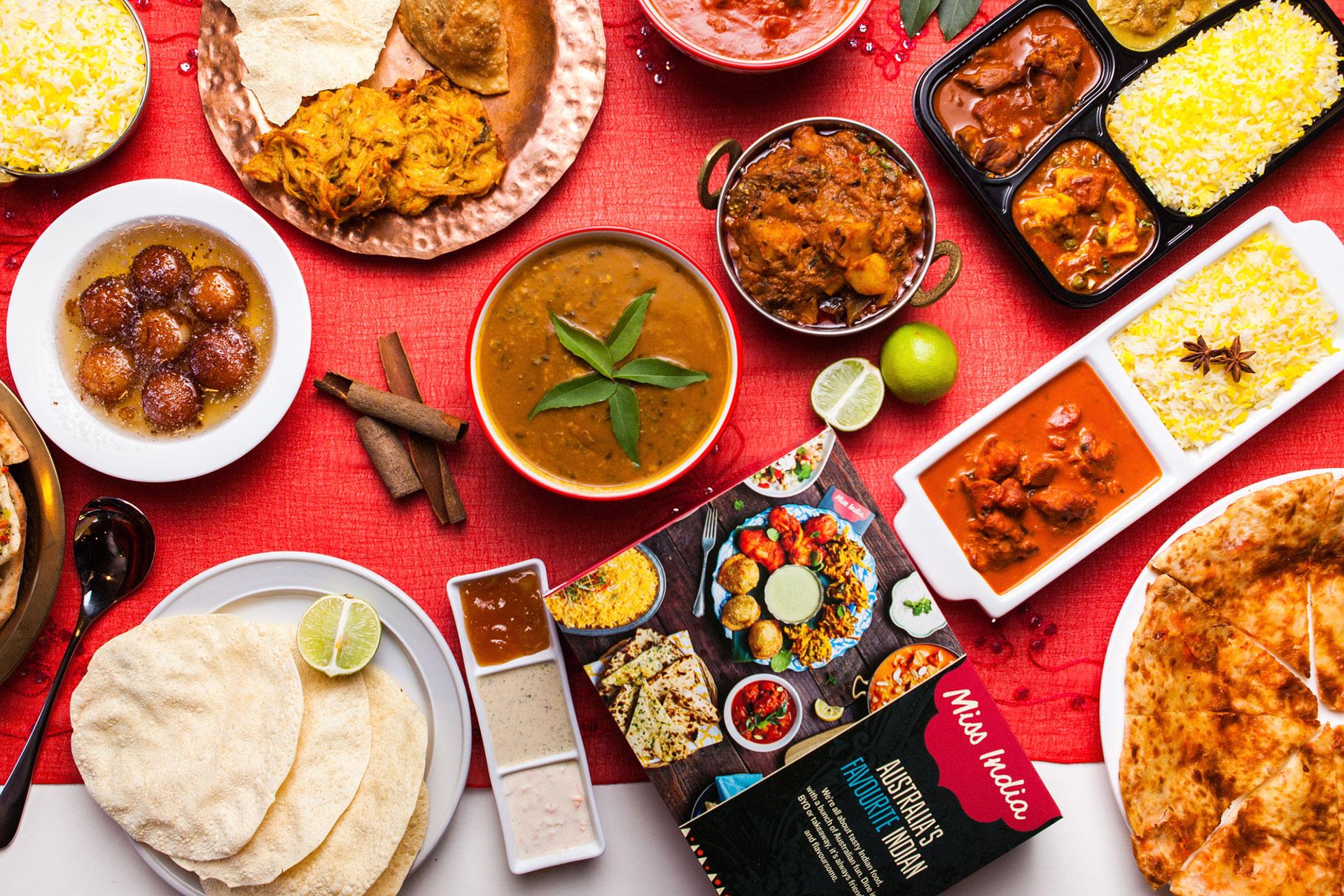 Miss India - Food Spread